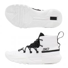 アンダーアーマー(UNDER ARMOUR)  SC 3ZER0 2 #3020613 WHT/BLK/BLK BK バッシュ(Men's)