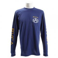 RVCA REYNOLDS HEX ロングスリーブTシャツ AI042055 UDP(Men's)