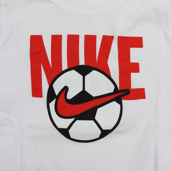 ナイキ(NIKE) YTH サッカー ボール Tシャツ AR5286-100SP19(Jr)