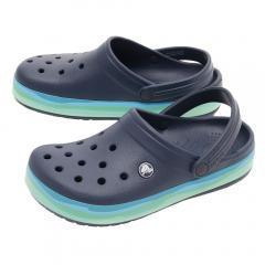 クロックス(crocs) CROCBAND WAVY BAND CLOG #205573-4HQ(Men's、Lady's)