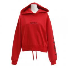 RVCA BOUND POINT PULL OVE パーカー AJ043012 RED(Lady's)