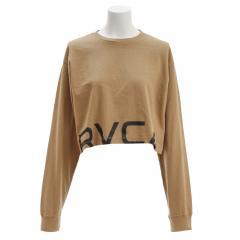 RVCA RPPD LS TEE ロングスリーブTシャツ AJ043050 BEG(Lady's)