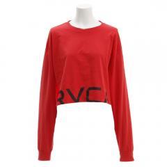 RVCA RPPD LS TEE ロングスリーブTシャツ AJ043050 RED(Lady's)
