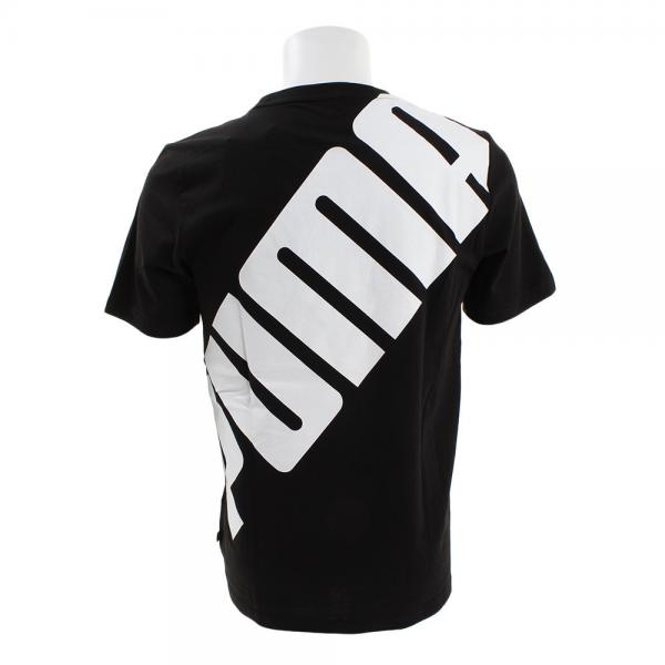 プーマ(PUMA) ビッグロゴ 半袖Tシャツ 855072 01 BLK(Men's)