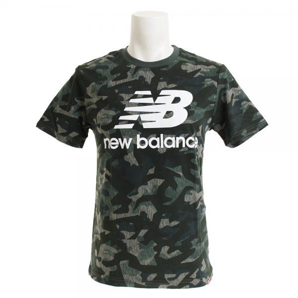 15f98927ded80 ニューバランス(new balance) エッセンシャル スタックドロゴ Tシャツ AMT91546MGN(Men's)