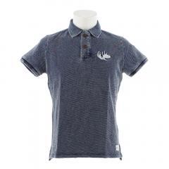 エルケクス(ELKEX) INDIGO HEAVY ポロシャツ 863EK9FQ9394LBLU(Men's)
