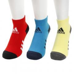 c9bdd00e49d26 アディダス(adidas) キッズ 3足組 ショートソックス FTG40-DV0050(Jr)