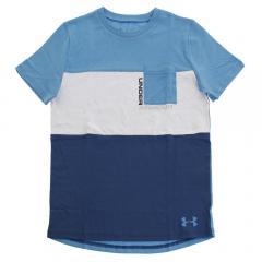 アンダーアーマー(UNDER ARMOUR) 【オンライン特価】 ジュニア ブロックポケットTシャツ #1329089 EBL/EBL AT(Jr)