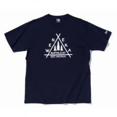 ニューエラ(NEW ERA) コットン Tシャツ フォレスト キャンプ ネイビー (ニューエラ アウトドア) 11925431(Men's)