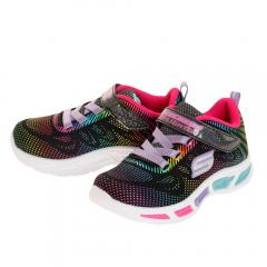 スケッチャーズ(SKECHERS) ジュニア LITEBEAMS GLEAM N' DREAM 10959N-BKMT(Jr)