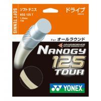ヨネックス(YONEX) 軟式ナチュラルガット ナノジー125ツアー( NANOGY 125 TOUR) NSG125T-695(Men's、Lady's、Jr)