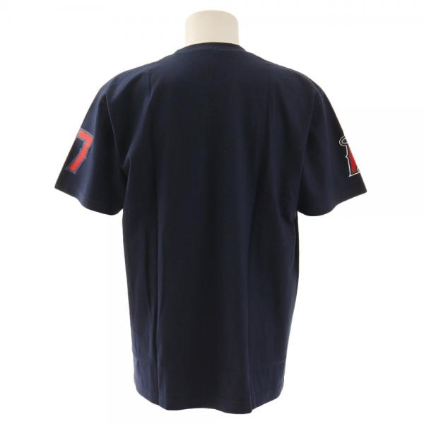 MJ・MLB 大谷翔平 ロサンゼルス・エンゼルス Tシャツ MM08-LA-9001-NV(Men's)