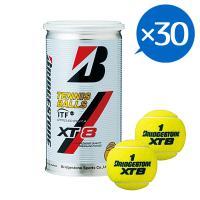 ブリヂストン(BRIDGESTONE) 硬式用テニスボール XT-8(2球入) 30缶 60球 1ケース XT-8ケース ##(Men's、Lady's、Jr)