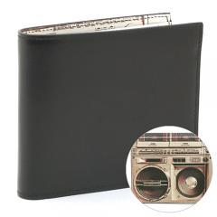 ポールスミス Paul Smith 二つ折り財布 ARXC 4833:ブラック