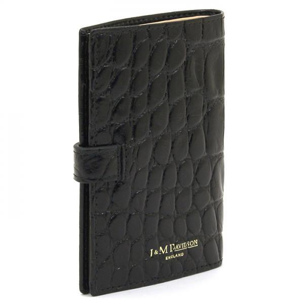 ジェイ&エムデヴィッドソン J&M DAVIDSON 二つ折り財布 10104 7267 アイボリー(030)