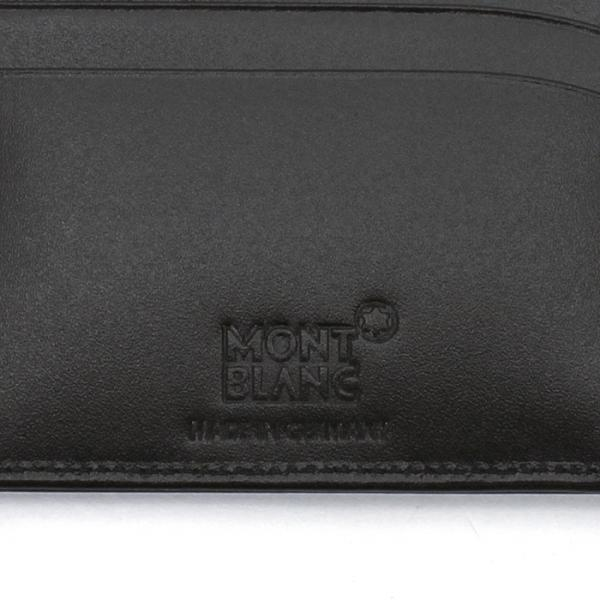 f24f52904bcf LOHACO - モンブラン MONTBLANC 二つ折り財布 7163 ブラック (財布 ...