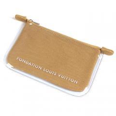 ルイヴィトン LOUIS VUITTON フォンダシオンルイヴィトン Fondation Louis Vuitton ポーチ POUCH キャメル
