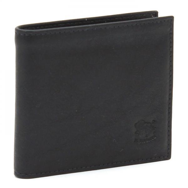 イルビゾンテ IL BISONTE 二つ折り財布 C0487 MP ブラック(153)
