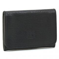 イルビゾンテ IL BISONTE カードケース C0470 ブラック(P-153)