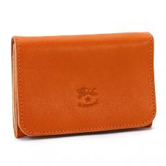 イルビゾンテ IL BISONTE カードケース C0470 オレンジ(P-166)