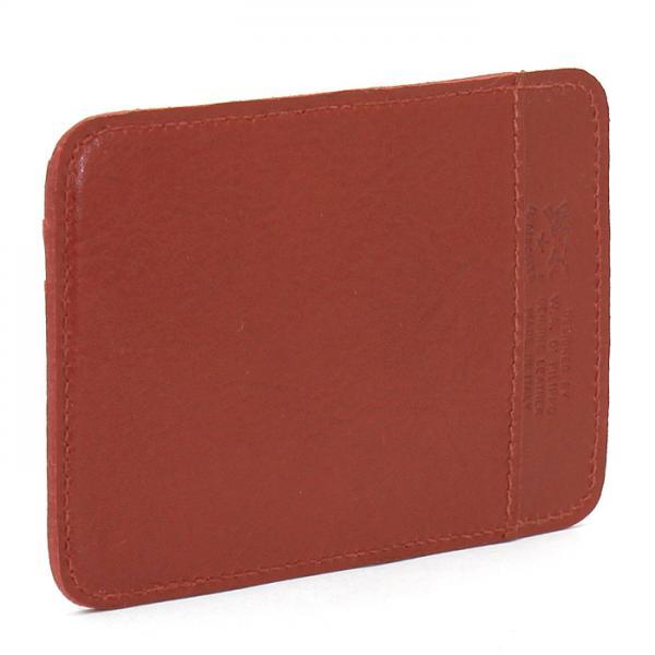 イルビゾンテ IL BISONTE カードケース C0959 コニャック(P-214)