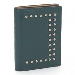 ジェイ&エムデヴィッドソン J&M DAVIDSON 三つ折り財布 10146N 7266 ペトラル(3750)