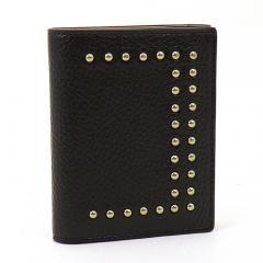 ジェイ&エムデヴィッドソン J&M DAVIDSON 三つ折り財布 10146N 7266 ブラック(9990)