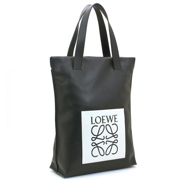 c57c56c78f9b ロエベ LOEWE ショッパーバッグ Shopper Bag トートバッグ 330 88 M48 ブラック(1930)