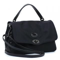 ザネラート ZANELLATO ポスティーナS アヴァナ POSTINA S AVANA ハンドバッグ(ショルダー付) 06370 ブラック(02)