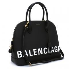 バレンシアガ BALENCIAGA ビルトップハンドル M ハンドバッグ(ショルダー付) 519036 0OT0M ブラック(1000)