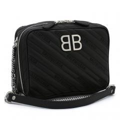 バレンシアガ BALENCIAGA BBレポーター XS ショルダーバッグ 526678 0HIAN ブラック(1000)