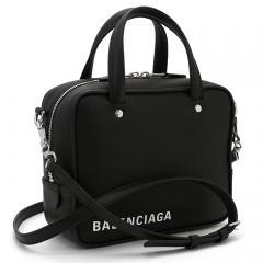 バレンシアガ BALENCIAGA トライアングルスクエア XS ハンドバッグ(ショルダー付) 528544 C8K02 ブラック(1000)