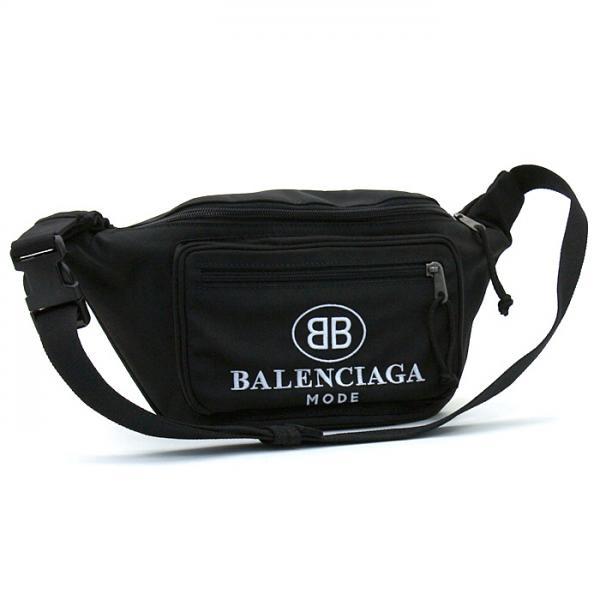 バレンシアガ BALENCIAGA エクスプローラーベルトパック EXPLORER BELT PACK ウエストポーチ 482389 9D0Z5 ブラック(1060)