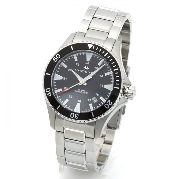wholesale dealer 26045 f5339 ハミルトン HAMILTON カーキ ネイビー メンズ 時計 ウォッチ H82335131 ブラック