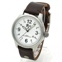 イルビゾンテ IL BISONTE メンズ 時計 ウォッチ H0225 P2 ホワイト文字盤 マロン(869N)