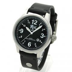 イルビゾンテ IL BISONTE メンズ 時計 ウォッチ H0252 P2 ブラック文字盤 ブラック(135N)