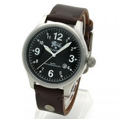 イルビゾンテ IL BISONTE メンズ 時計 ウォッチ H0252 P2 ブラック文字盤 マロン(869N)