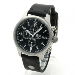 イルビゾンテ IL BISONTE メンズ 時計 ウォッチ H0301 P2 ブラック文字盤 ブラック(135N)