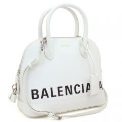 バレンシアガ BALENCIAGA ビルトップハンドル S ハンドバッグ(ショルダー付) 518873 0OTA3 ブラン(9000)