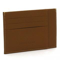 ロンシャン LONGCHAMP ル・フローネ LE FOULONNE カードケース L3121 021 コニャック(504)