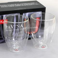ボダム bodum  PAVINA 4559-10US  ダブルウォールグラス 350ml  ペアセット
