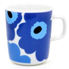 マリメッコ  ウニッコ マグカップ   63431-017 ブルー 250ml