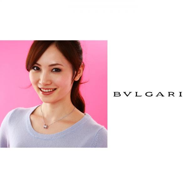 ブルガリ BVLGARI B-Zero1 ネックレスCL857832 K18ホワイトゴールド