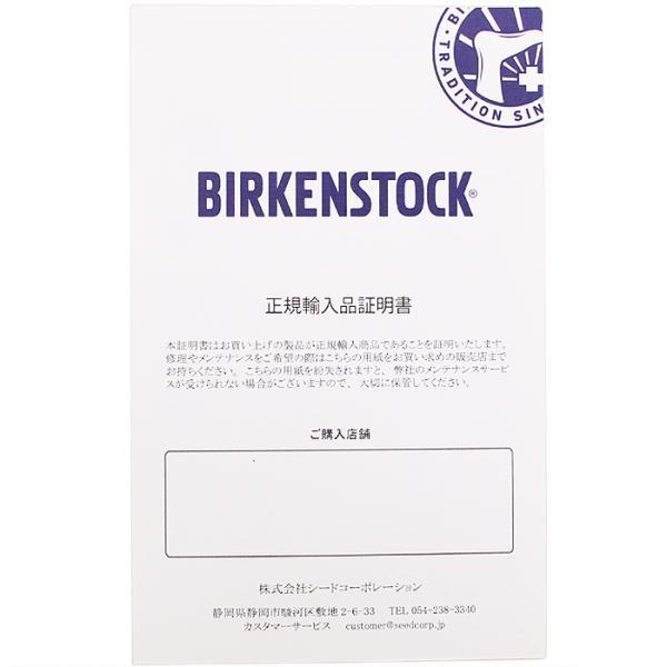 ビルケンシュトック BIRKENSTOCK アリゾナ ARIZONA レザーストラップサンダル GC051193 ブラック 36 足幅ナロー