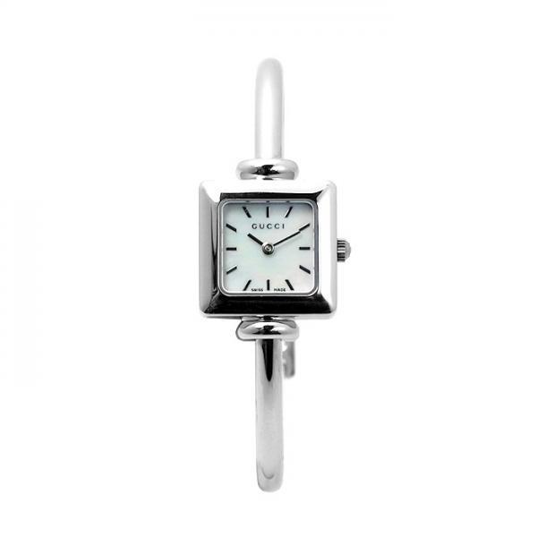 0b4aceba73cd グッチ GUCCI 1900シリーズ YA019518 ホワイトシェル シルバー レディース 時計 ウォッチ