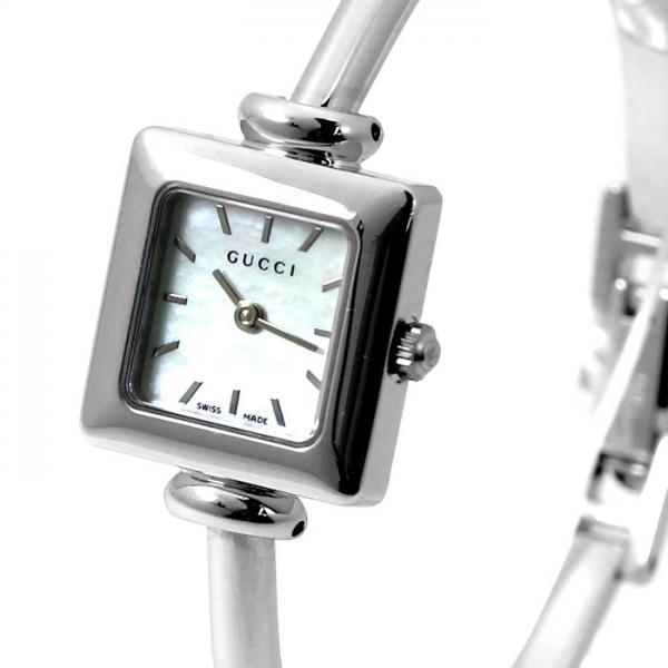 a843adbf4879 ... グッチ GUCCI 1900シリーズ YA019518 ホワイトシェル シルバー レディース 時計 ウォッチ ...