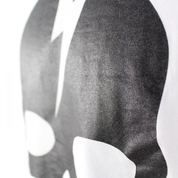 ハイドロゲン HYDROGEN スカルプリント長袖Tシャツ 230053 WHITE L
