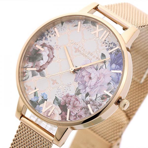 オリビアバートン OLIVIA BURTON グラスハウス OB16EG86 マルチ ローズゴールドメッシュベルト レディース 時計 ウォッチ