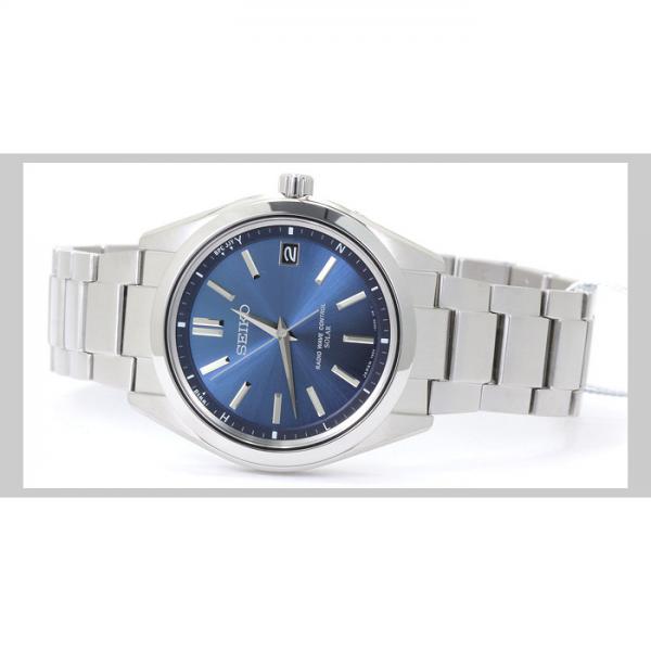 INT-325SEIKO セイコー ブライツ ソーラー電波 チタン SAGZ081:ブルー  時計/ウォッチ