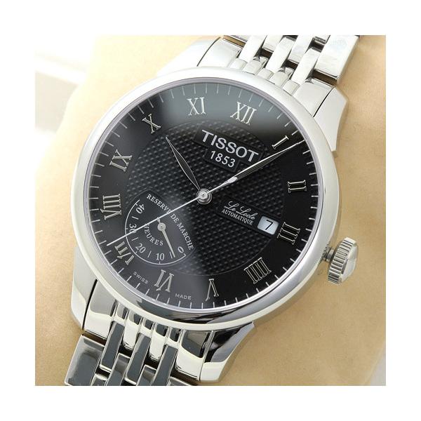 257edfd487 ... ティソ TISSOT ル・ロックル メンズ T006.424.11.053.00:ブラック 時計/ウォッチ ...